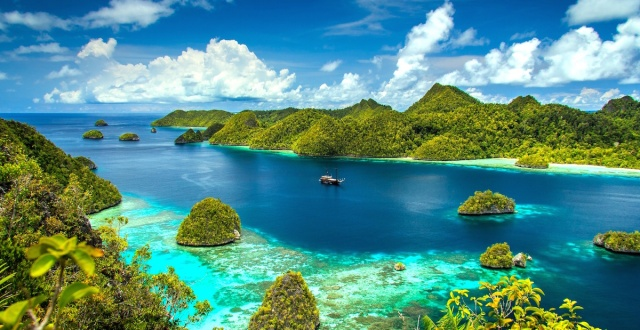 Raja Ampat Marine Protected Area in Indonesia. Photo credit: Enjoylocations.com
