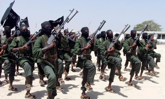 The terror group Al Shabaab may generate up to 40% of their income from poaching, totaling up to $600,000 per month. Photo credit: The Guardian.