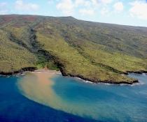 Runoff pollutes coastal ecosystems. Photo credit: Kim Starr.