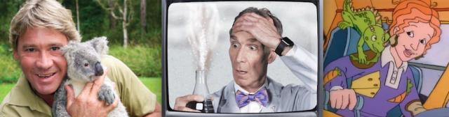 Steve Irwin Bill Nye Ms Frizzle