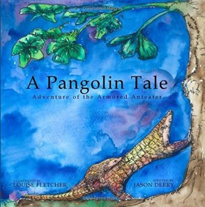 Pangolin-kids-book
